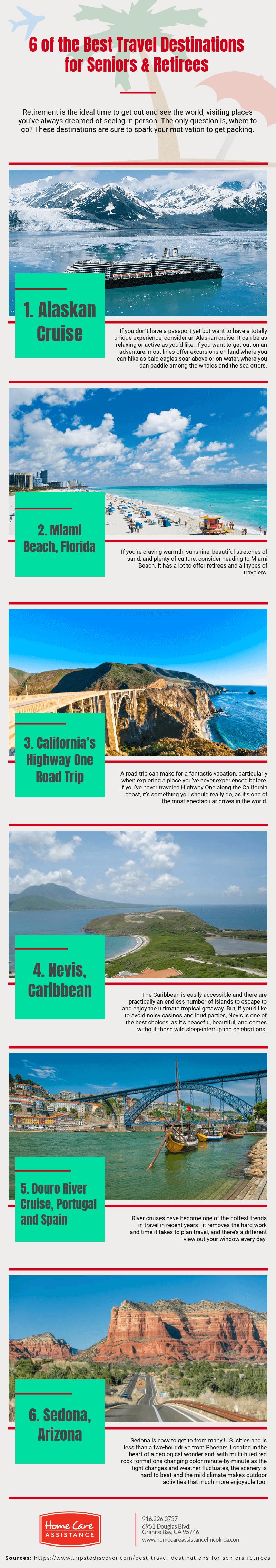 Best Travel Destinations for Seniors & Retirees