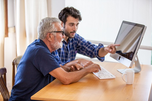 How to Help Your Senior Loved One Use the Web Safely in Lincoln, CA