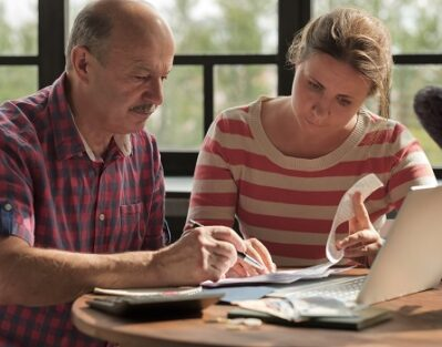 Worries for Retired Older Adults in the U.S. in Lincoln, CA