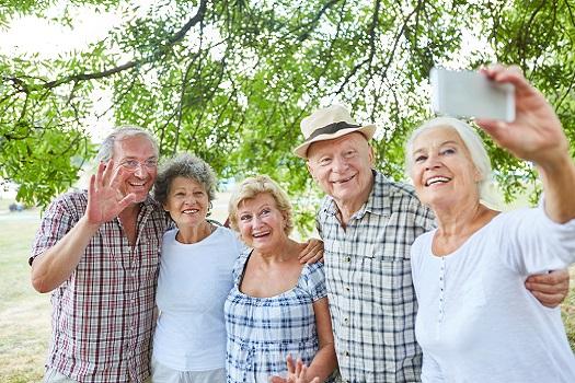 Communities where seniors can hangout